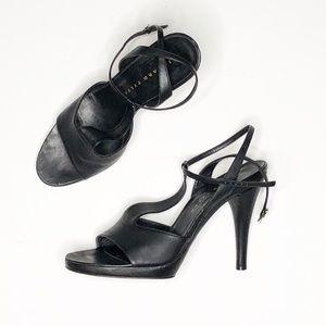 Richard Tyler black heels 9.5